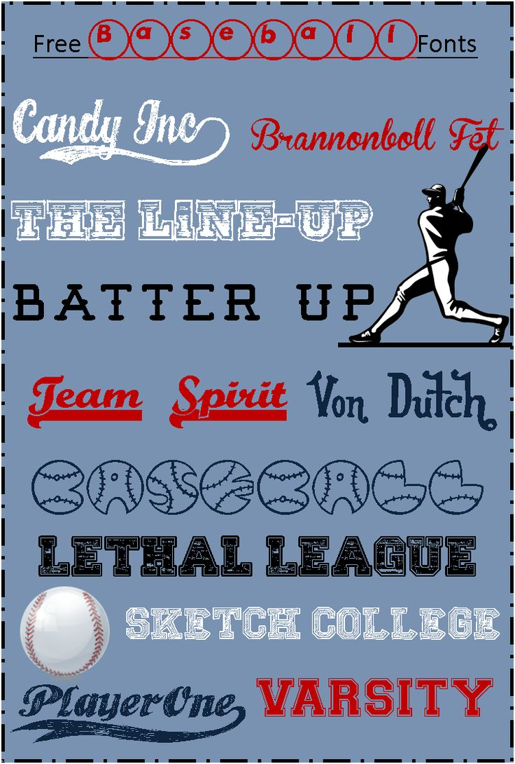 Best 25+ Sports fonts ideas on Pinterest | Baseball font ...