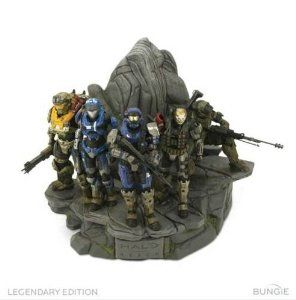 Halo: Reach Legendary Edition Noble Team Statue