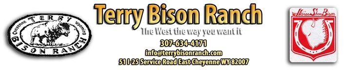 Terry Bison Ranch, featuring Wyoming horseback riding, train rides to the middle of a buffalo herd, RV camping, bison burgers, and a lot more.