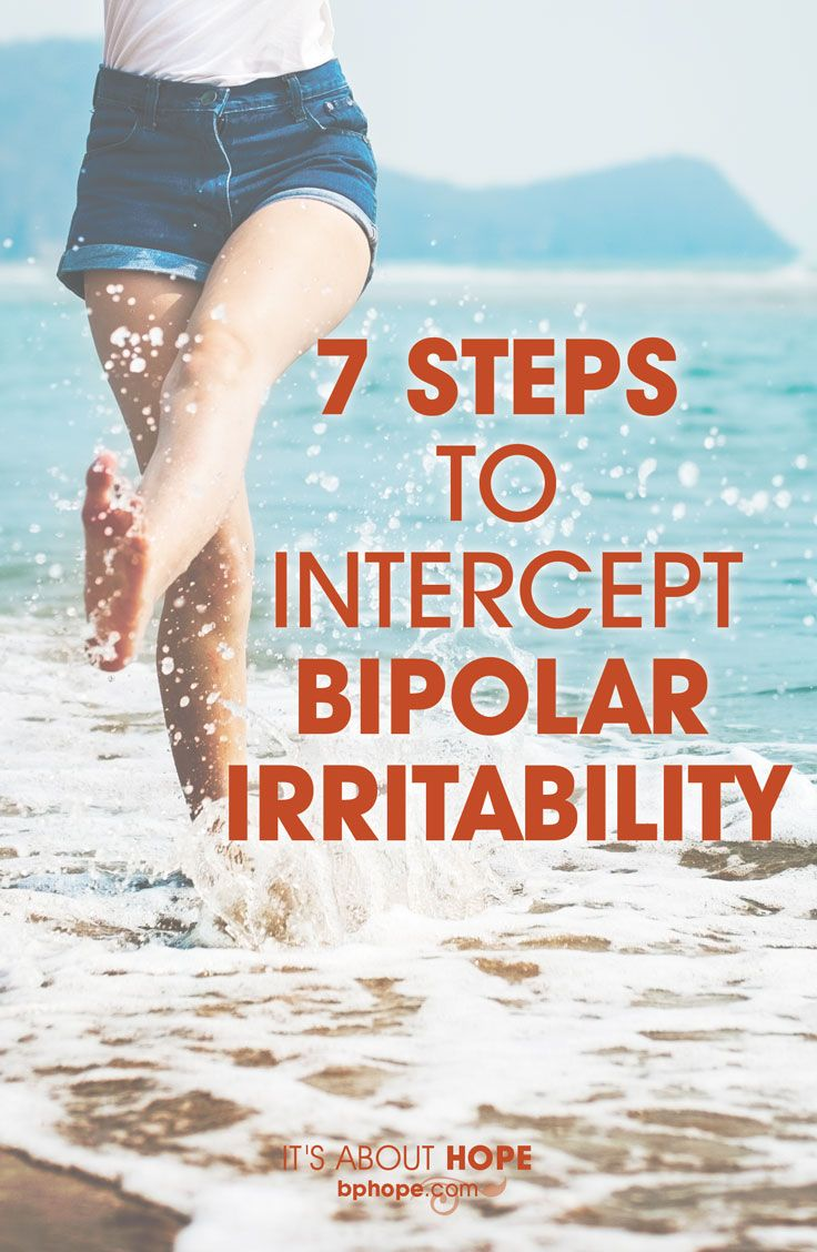 Irritability and anger are on the front lines of bipolar disorder; here's a plan of attack: