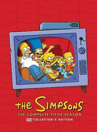 The Simpsons - Season 5 (DVD, 2012, 4-Disc Set)
