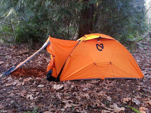 Nemo Tenshi four-season tent 1