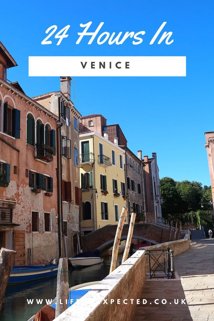 How To Spend 24 Hours In Venice: The Complete Itinerary· Make the most out of this beautiful Italian, Venetian city! Use this itinerary to plan the perfect trip to Venice, Italy. Venice | Italy | City Breaks | Holiday To Venice | 24 Hours In Venice | Best Restaurants In Venice | City Break To Venice | Short Break To Venice | Family Break To Venice | Things To See Eat and Do In Venice | Kids In Venice | Romantic Venice | Things You Must Do In Venice