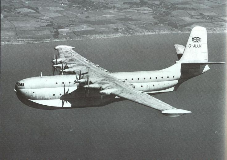 Saunders Roe seaplane. A flying boat. Only three were made.