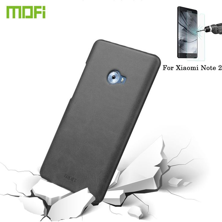 MOFI Xiaomi Note 2 Crazy Horse Mi note 2 case Leather Surface PC Protective Case Back Cover phone front screen protector