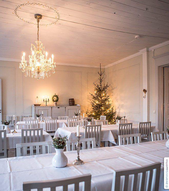 #visitsouthcoastfinland #westerbygård #table #light #cozy #beaufitul