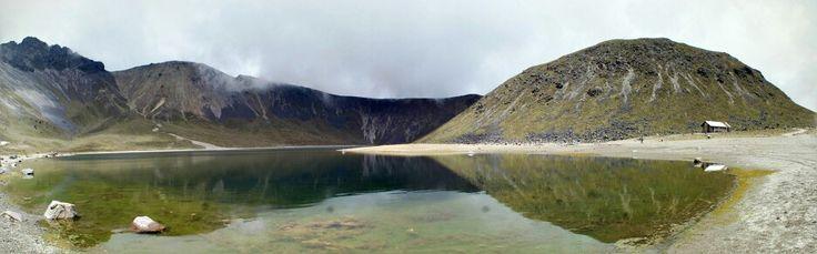 Laguna del sol. Nevado de Toluca