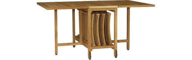 Les 25 meilleures id es de la cat gorie tables pliantes sur pinterest - Habitat table pliante ...