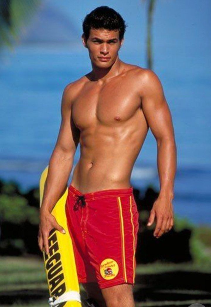 A young Jason Momoa from Baywatch. in 2019