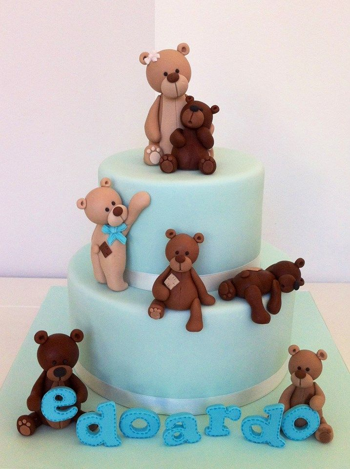 how to make teddy bear brown fondant