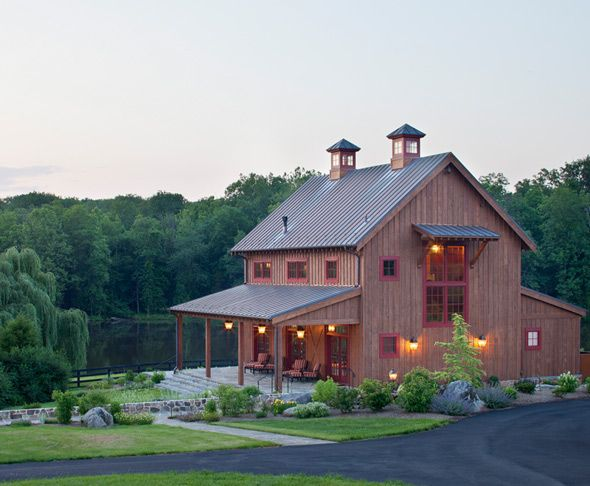 1000 ideas about barn house design on pinterest barn for Cost to build a pole barn home