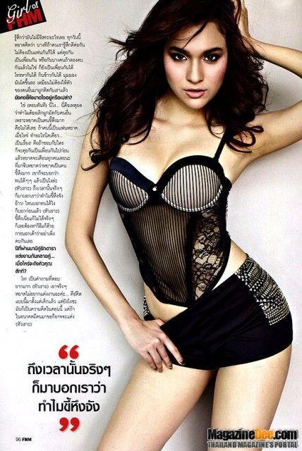Thai Sexy Girl: Yardthip Rachapal on FHM Thailand