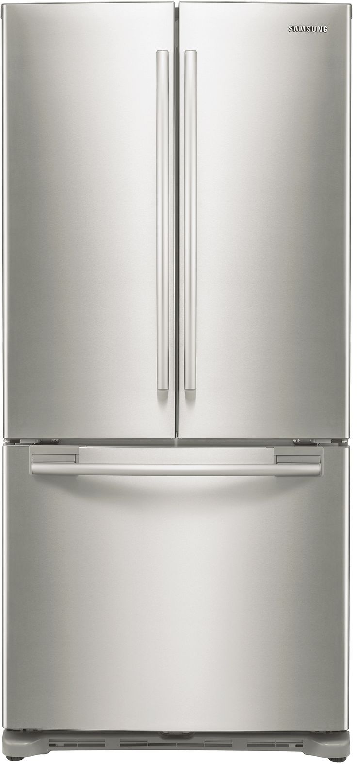This stylish counter-depth 3-door French door refrigerator provides a built-in look, yet offers 18 cubic feet of space with lots of flexibility for food storage. Additionally, it features an automatic filtered ice maker, as well as our Twin Cooling System to help keep food fresher for longer.