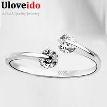 Resizable Rings Female for Girls Women Zirconia Jewellery Aneis Femininos Crystal Anel Anillo Gifts for the New Year 2016 Y081(China (Mainland))