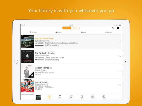 Audible – audio books, original series & podcasts by Audible, Inc.
