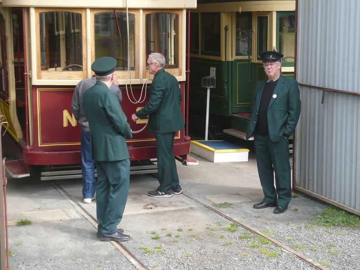 How many tram conductors does it take to....