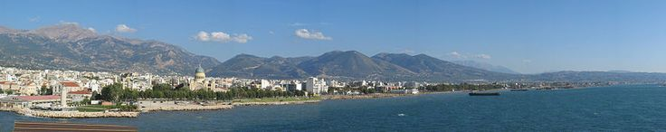 Patras , Greece/ site of St Andrews martyrdom