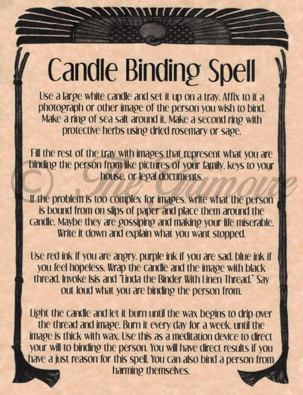 25 unique binding energy ideas on pinterest magick spells candle binding spell book of shadows page rare wiccan spell real occult magic fandeluxe Document