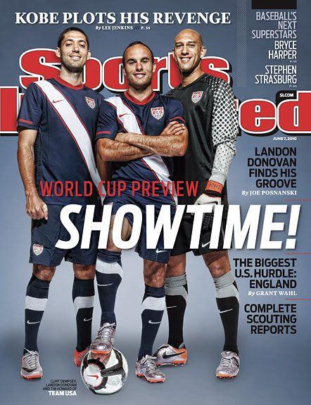 Clint Dempsey, Soccer, Team USA