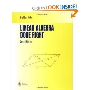 Linear Algebra Done Right #EasyPin