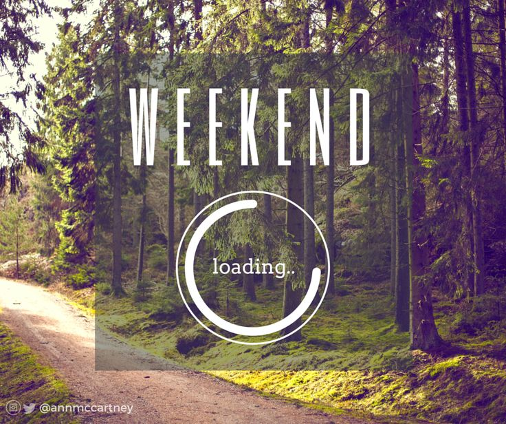 """Images Of Nature With Quotes For Facebook: """"Weekend Loading"""" #nature #forest #sunshine #greens"""