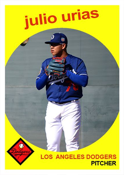 Dodgers Blue Heaven: Welcome to the Blue, Julio Urias! Check Out a Boatload of Fantasy Cards