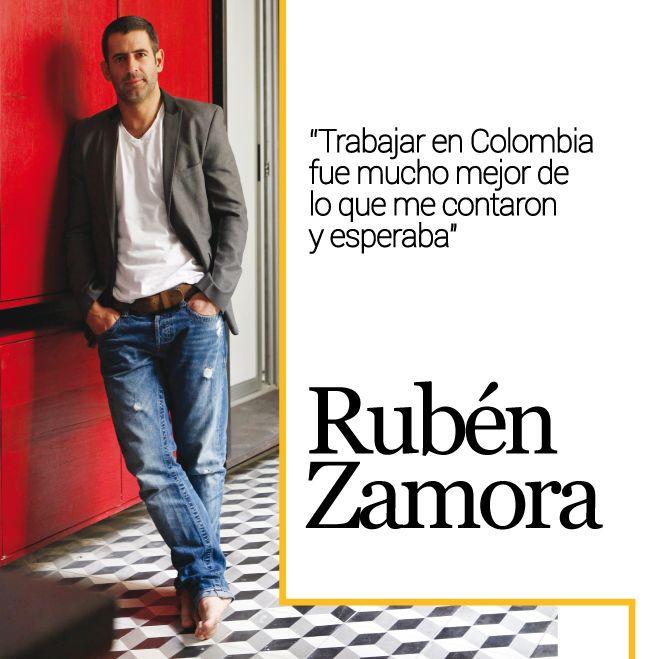 Si hay una característica que describa la personalidad de Rubén Zamora es la sencillez y es eso precisamente lo que más aprecia, pues él valora lo simple y cotidiano de la vida.  http://www.inkomoda.com/ruben-zamora/