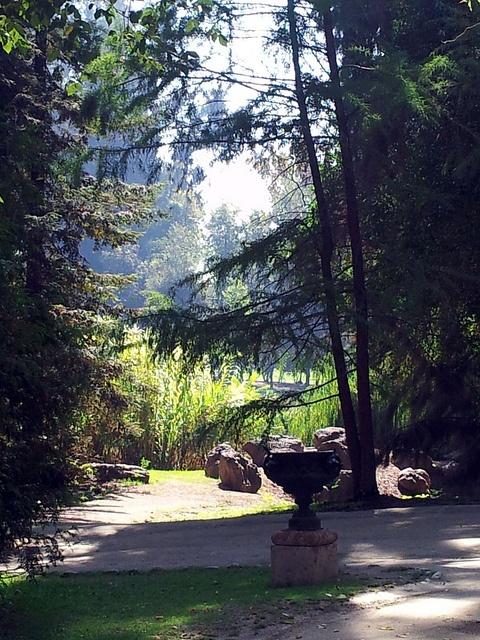 Jardines en Concha y Toro, Chile