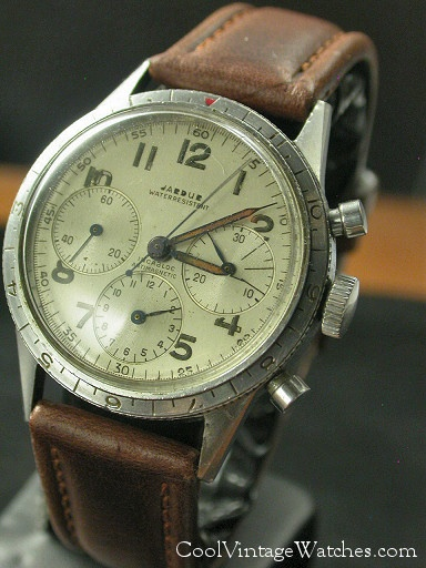 Butch Style: Vintage Chronograph. Way better than the antique watch I ordered K from Kazahkstan that took half the length of our relationship to arrive. —Elisabeth