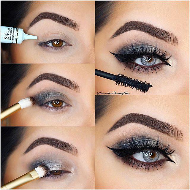 Best eyeshadow palette for blue gray eyes