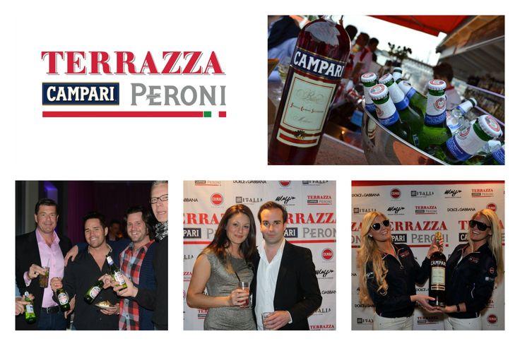 Vi har ansvarade för 40 st Terrazza & Campari evenemang mellan 2010 - 2012 i Städer och platser som Malmö, Göteborg, Båstad, Visby och Stockholm.