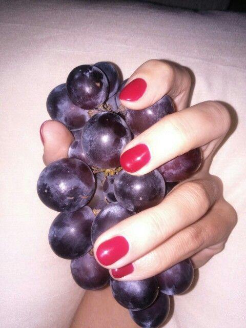 Wild color #nails #wild #pretty #grape