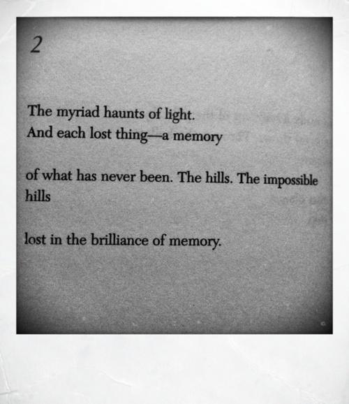 Paul Auster, '2', Effigies (1976)