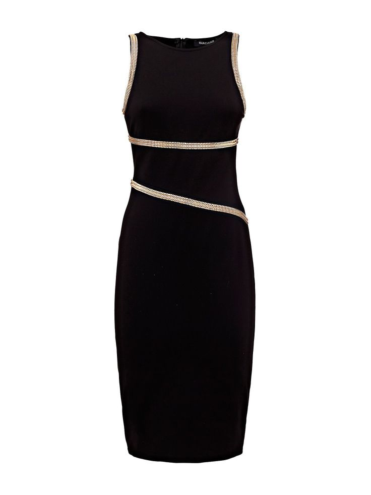 MARCIANO DRESS WITH CHAIN DETAIL on Guess.eu
