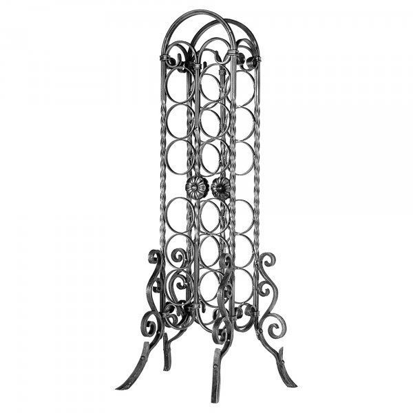 Wine Rack Wrought Iron #Unbranded