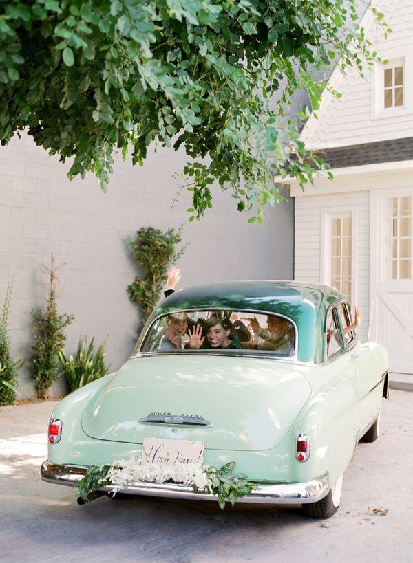 Mint Getaway Car