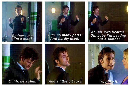 Laugh, Episode, Cassandra, Inner Geek, Doctors Who, Scene, Bit Foxy, Earth, David Tennant