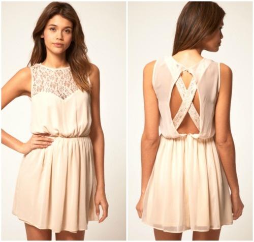 : Summer Dresses, Lace Tops, Rehear Dresses, Dream Closet, Bridesmaid Dresses, Bows Dresses, Cream Lace Dresses, Graduation Dresses, Skater Dresses