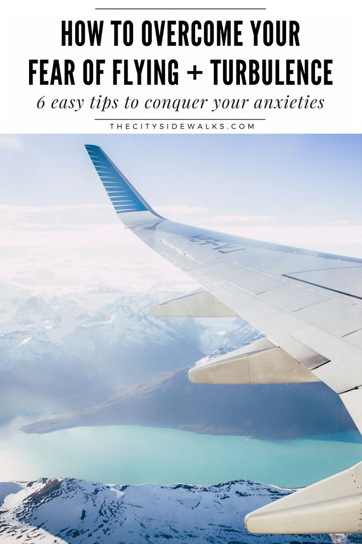 Confession Time: I'm a travel blogger who is afraid of flying. For real. Luckily, after years of practice, I've come up with an easy system for how to overcome this fear of flying every time I step onto an airplane. And now, I'm sharing my tips with you! If you're like me and you hate the feeling of turbulence, check out these 6 easy tips to conquer your fears and anxieties of flying.