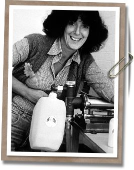 Dame Anita Roddick became a pioneer of the sustainability movement when she opened the first Body Shop in Brighton, England in 1976.  Now a global franchise with over 2,500 stores, the Body Shop continues to offer personal care products produced with regard for the company's five core Values: Support Community Trade, Defend Human Rights, Against Animal Testing, Activate Self-Esteem, and Protect Our Planet.