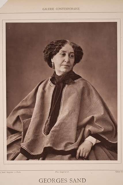 """Georges Sand"" born Amantine Lucille Aurore Dupin (later Baroness Dudevant) on July 1,1804 and died June 8,1876.  She was a French novelist  and  memoirist."