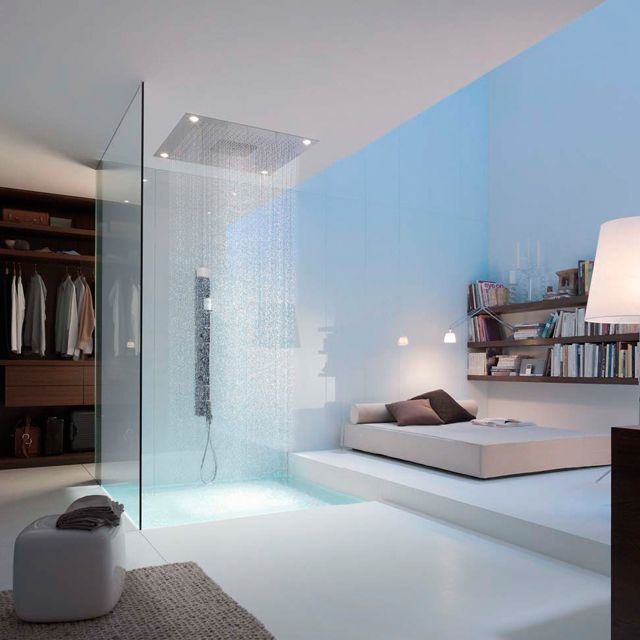 want!: Showers, Interior Design, Decor, Ideas, Interiors, Dream House, Bedrooms, Space
