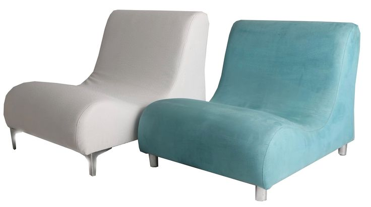 S chairs white and jazz turquoise