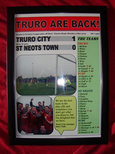 Truro City 1 St Neots Town 0 - Truro City promoted - 2015 - framed print Lilywhite Multimedia http://www.amazon.co.uk/dp/B00XWPB8RO/ref=cm_sw_r_pi_dp_-tImwb08KPJ86
