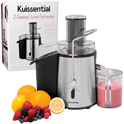 Special Offers - Cheap Kuissential 2-Speed 700 Watt Juice Extractor Centrifugal Juicer  Stainless Steel - In stock & Free Shipping. You can save more money! Check It (January 22 2017 at 11:20PM) >> https://standmixerusa.net/cheap-kuissential-2-speed-700-w