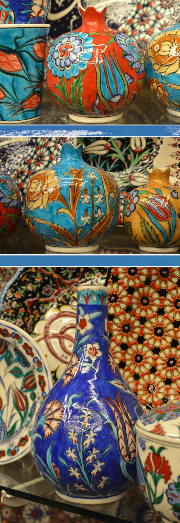 Iznik Ceramics Turkey from BigBrightBold