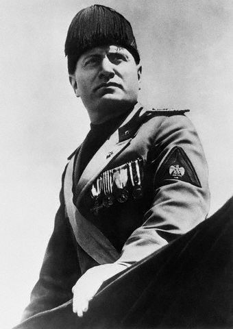 Benito Mussolini was the Fascist leader in Italy during World War II. Adolf Hitler took many of Mussolini's ideas in Italy and brought them to Germany. Mussolni and his handle on government greatly influenced Germany and World War II.
