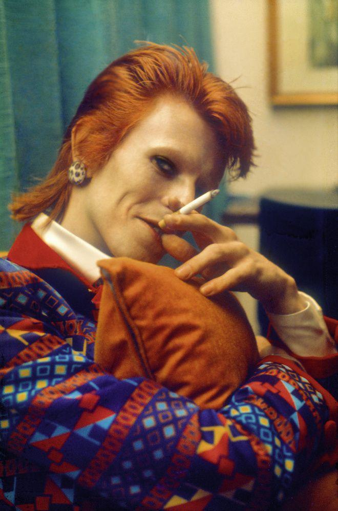 David Bowie par Mick Rock dans l'ouvrage Mick Rock. The Rise of David Bowie