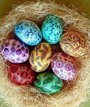 Il n'y a pas qu'une seule bonne façon de décorer un œuf de Pâques.