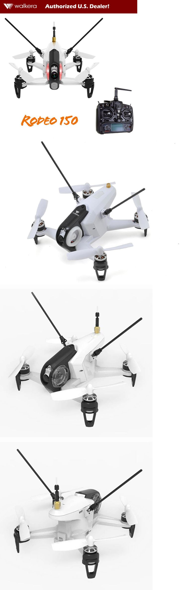 Quadcopters and Multicopters 182185: Walkera Rodeo 150 Rtf Fpv Rc Quadcopter Race Drone W Devo 7, 600 Tvl Cam (White) -> BUY IT NOW ONLY: $179.99 on eBay!